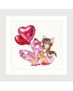 Valentine's Kitten