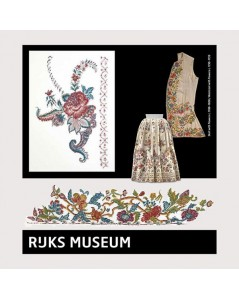 Rijksmusem Collection Skirt with flowers / Waistcoat with flowers