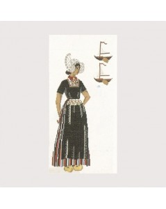 Embroidery kit Volendam