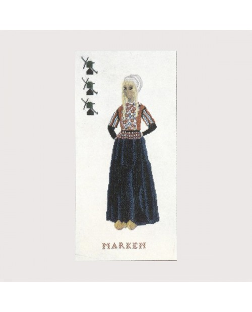 Embroidery kit Marken