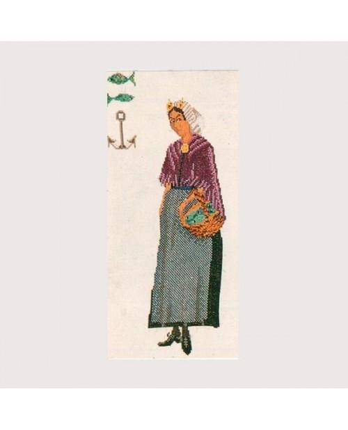 Embroidery kit Scheveningen