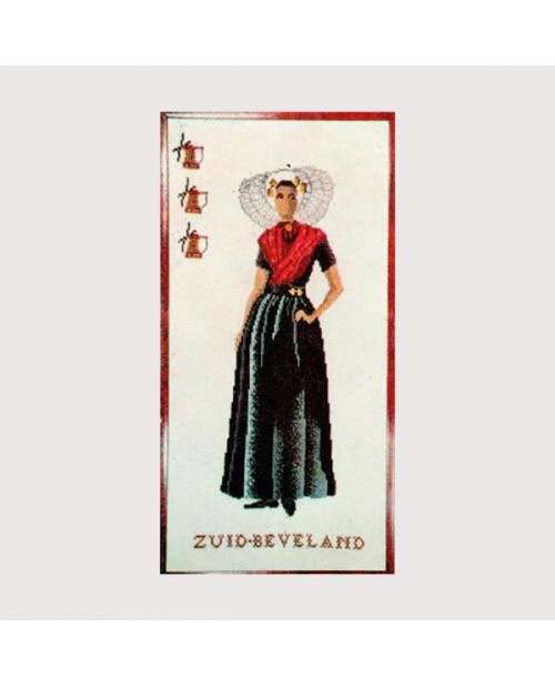 Embroidery kit Zud Beveland