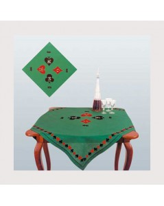 Card tablecloth