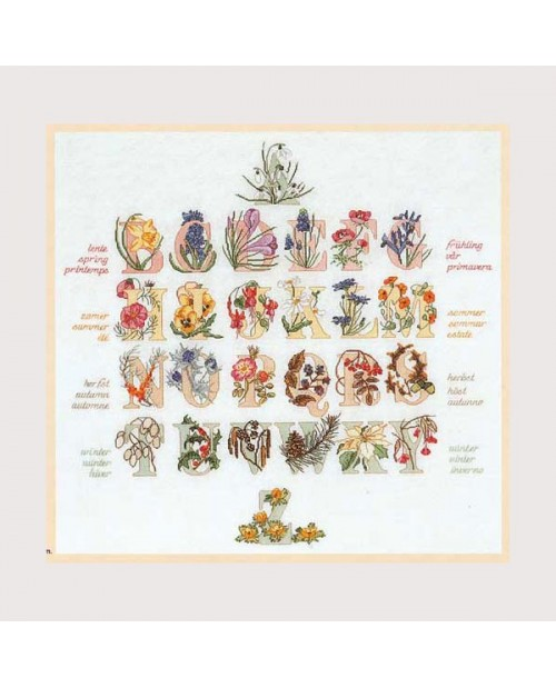Flowered sampler