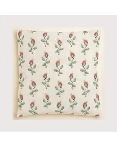 Rosebuds cushion