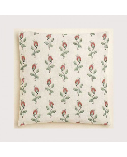 Rosebuds cushion