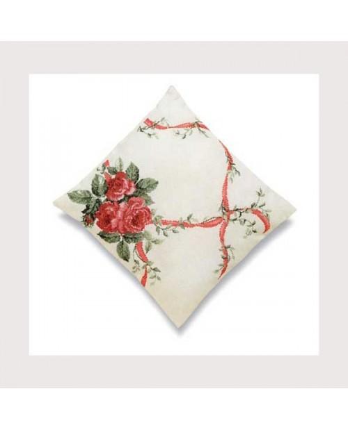Rose bouquet cushion