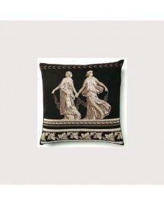 Grecian cushion