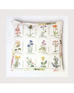 Wild flower cushion