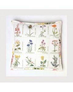 Wild flower cushion