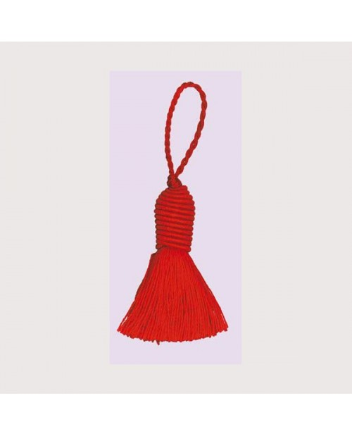 Red bobble