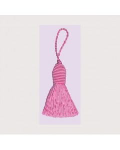 Pink bobble with an eyelet. Le Bonheur des Dames PB77