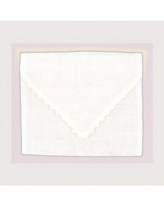 White linen pouch