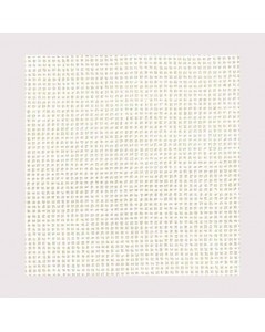 White Waste canvas 10 threads/cm140 cm X 30 cm