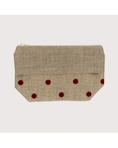 Pocket with polka-dot print
