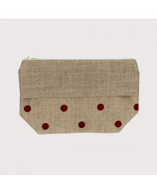 Pocket with polka-dot print