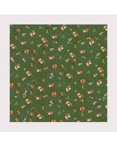 Chritmas fabric 3  width 120 cm