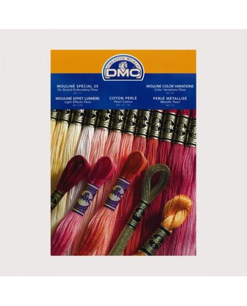 Color chart DMC
