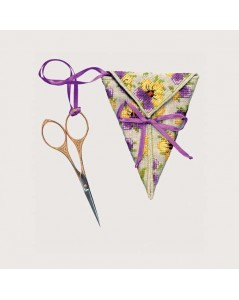 Scissor keep Pansies