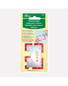 Sewing tool Clover sewing gauge 7705