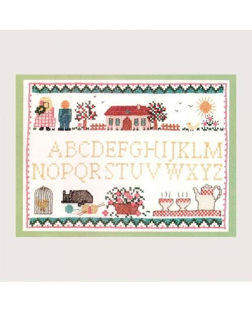 Alphabet Countryside 1511 Le Bonheur des Dames.