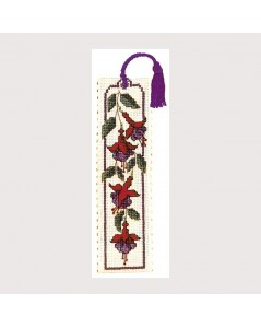 Marque-page Textile Heritage Collection Fuchsia