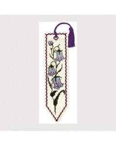 Marque-page Clochette à broder au point de croix Textile Heritage