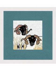 Broderie mouton noir. Textile Heritage
