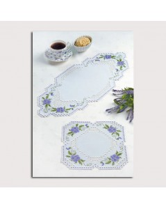 Hardanger Doily - counted cross stitch kit. Permin of Copenhagen