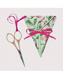 Scissor-keep to cross stitch - Fuchsia. Le Bonheur des Dames item n° 3372