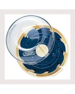 Porte-aiguilles en forme de dome sans couvercle. Clover C625