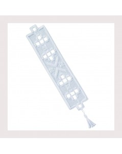 Bookmark. Hardanger Mini. Permin of Copenhagen. Item n° 051846