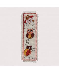 Bookmark Owl. Permin of Copenhagen. Item n° 052102