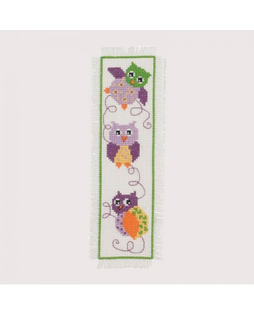 Bookmark Owl. Permin of Copenhagen. Item n° 056145