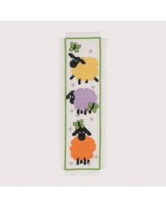 Marque-page Chouettes création de Permin of Copenhagen. Référence 056146