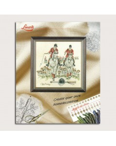 Equestrians. Embroidery kits. Lanarte. Item n°  34486