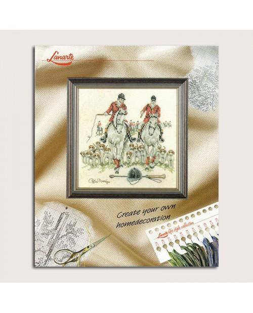 Equestrians. Embroidery kits. Lanarte. Item n°  34486