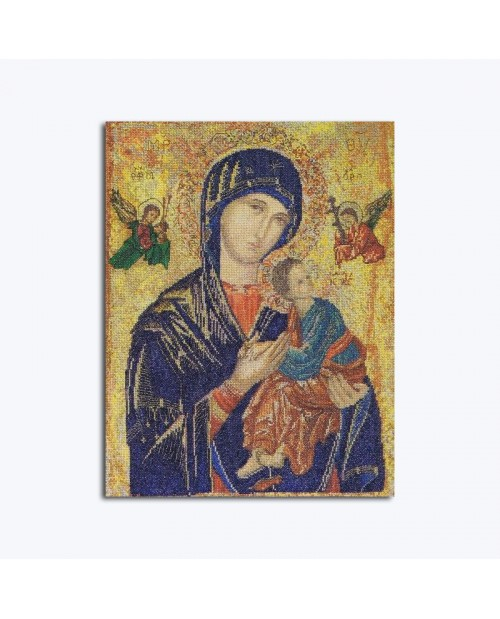 Counted cross stitch kit. Our Lady of Perpetual Help. Thea Gouverneur. n° 551