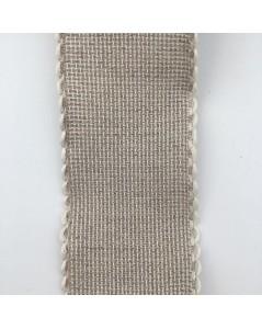 Bande en Aida 6 points/cm 5 cm de large. couleur gris. Le Bonheur des Dames BD35.