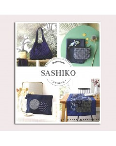 Sashiko. Book of Sashiko embroidery motives. Le Temps Apprivoisée. LTA 577