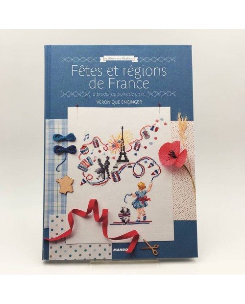 Book by Mango editions. Fêtes et régions de France. Holidays and regions of France MG507