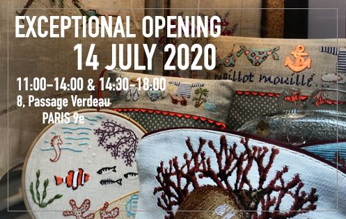 Exceptional Opening on Tuesday 14 July 2020. 8, Passage Verdeau Paris 9e