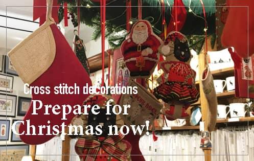 Counted cross stitch Christmas decorations, animals. Le Bonheur des Dames