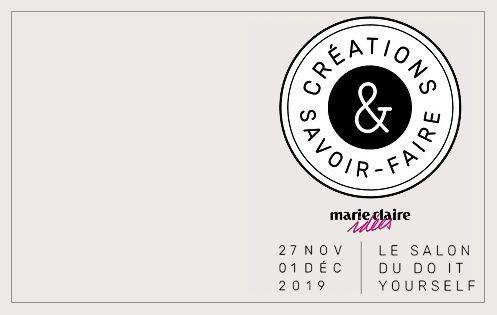Salon des Loisirs Créatifs. CSF. Le Bonheur des Dames stand n° J085