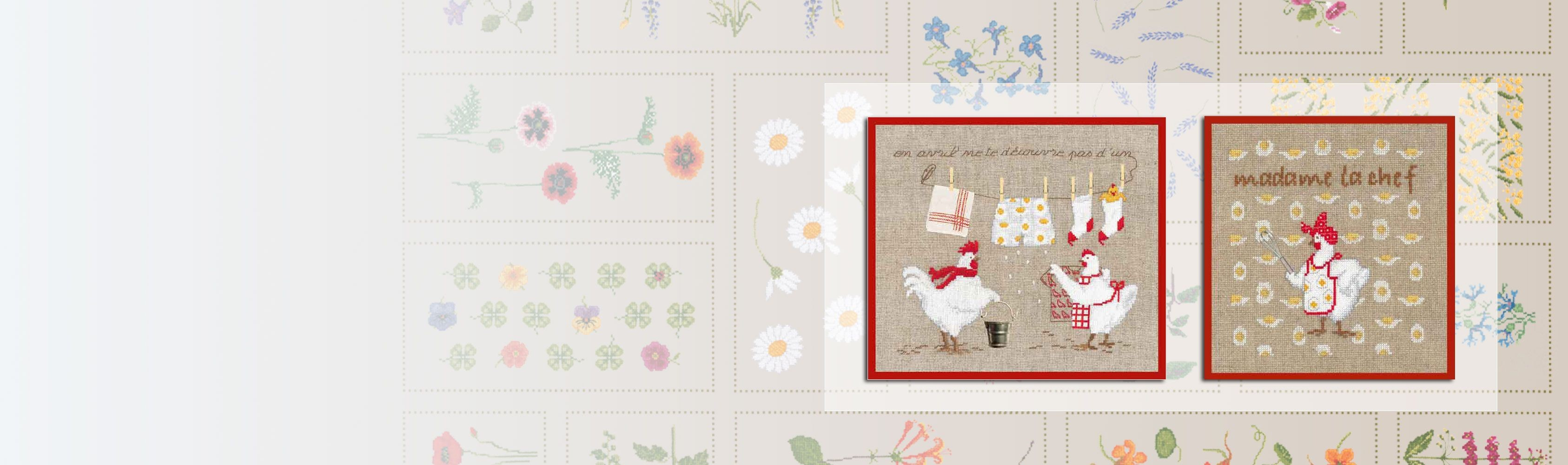 Sashiko embroidery kits. Kimonos. Series 38